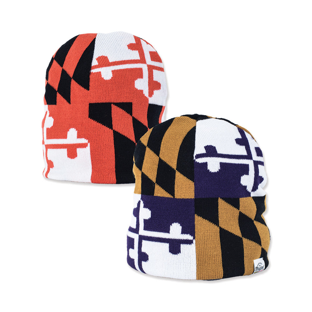 Maryland Flag Sports Beanie - Maryland O Mine