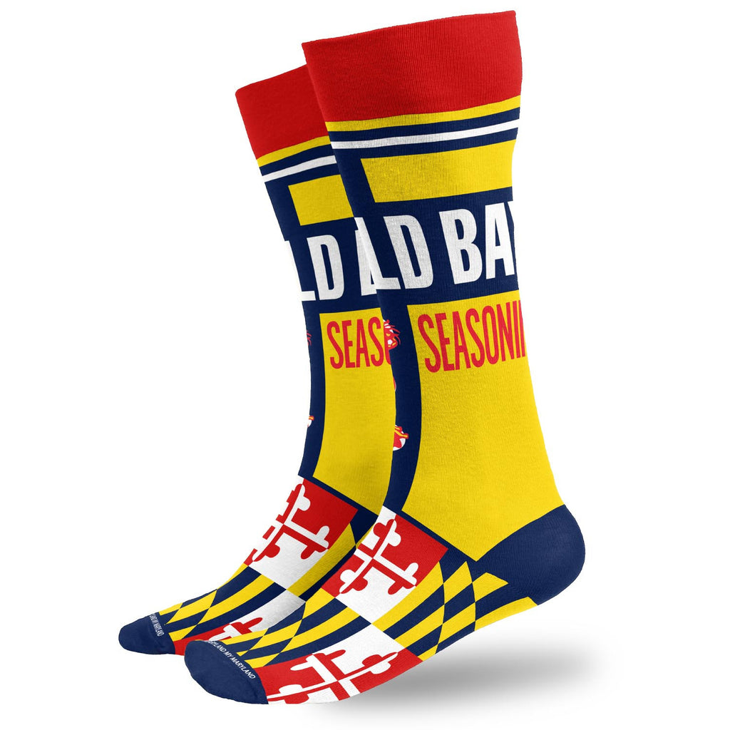 OLD BAY® Can Dress Socks - Maryland O Mine