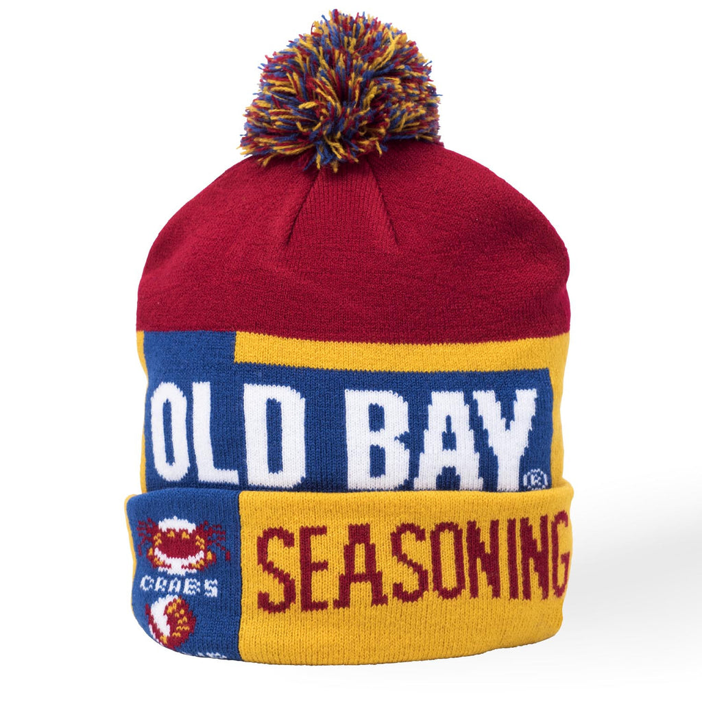 OLD BAY® Can Pom Beanie - Maryland O Mine