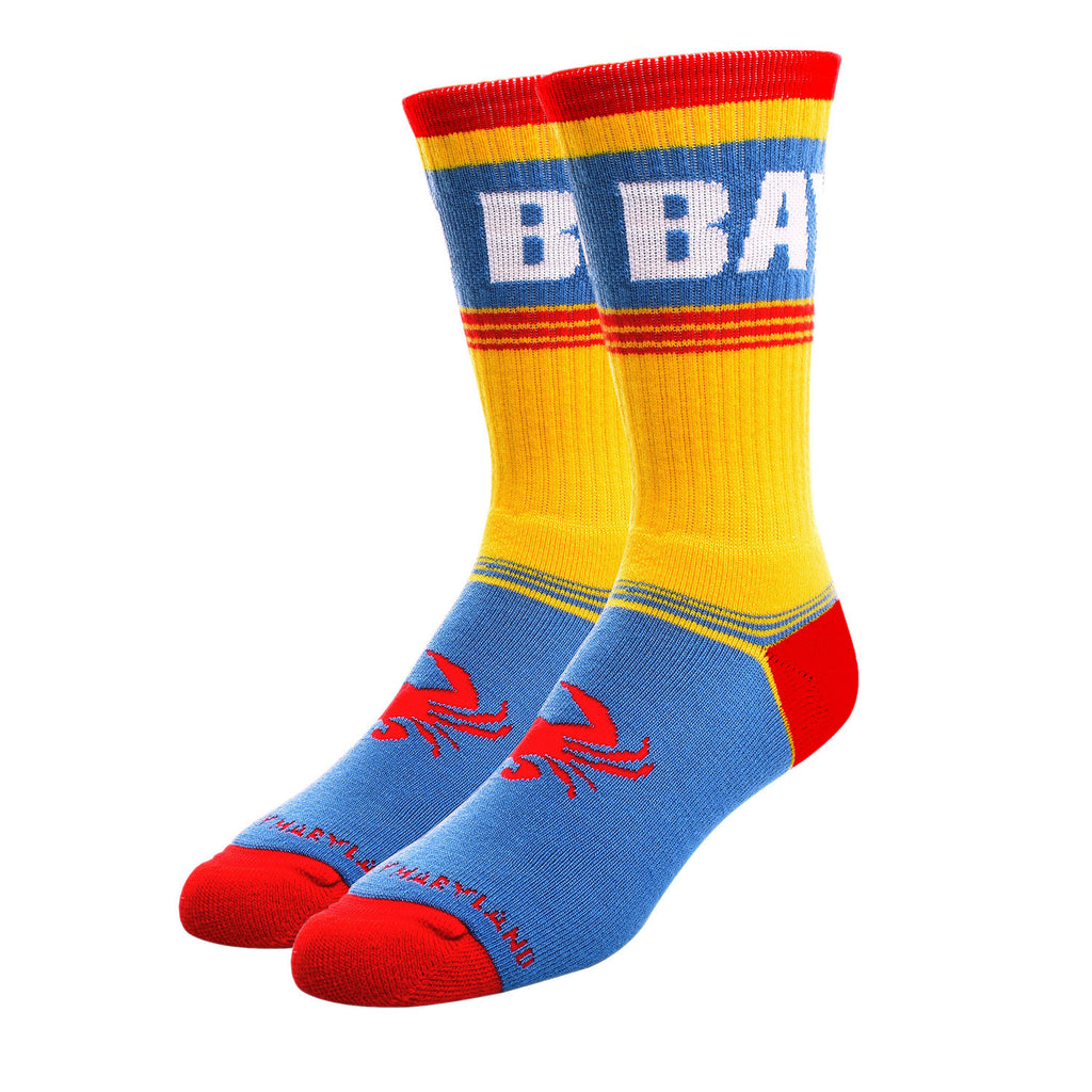 OLD BAY® Crab Foot Crew Socks - Maryland O Mine