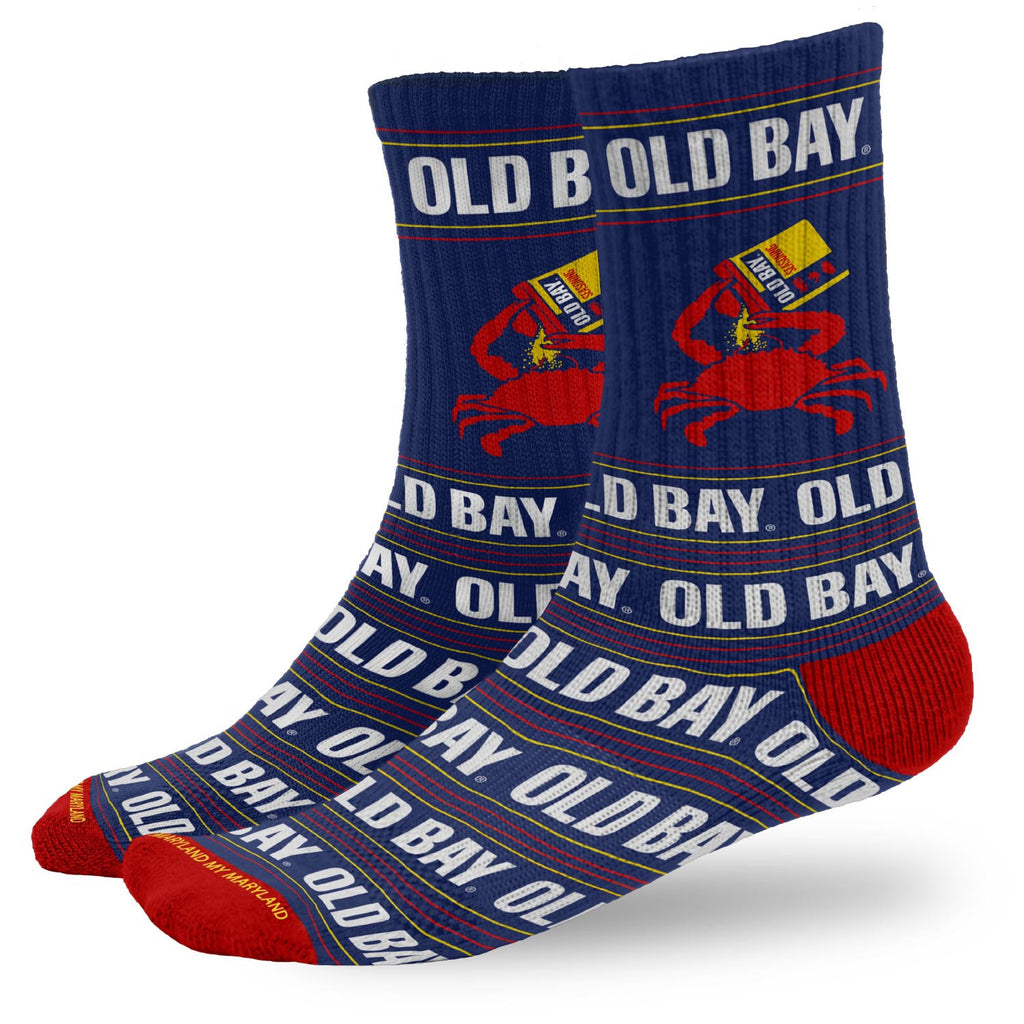 OLD BAY® Open Can Crew Socks - Maryland O Mine
