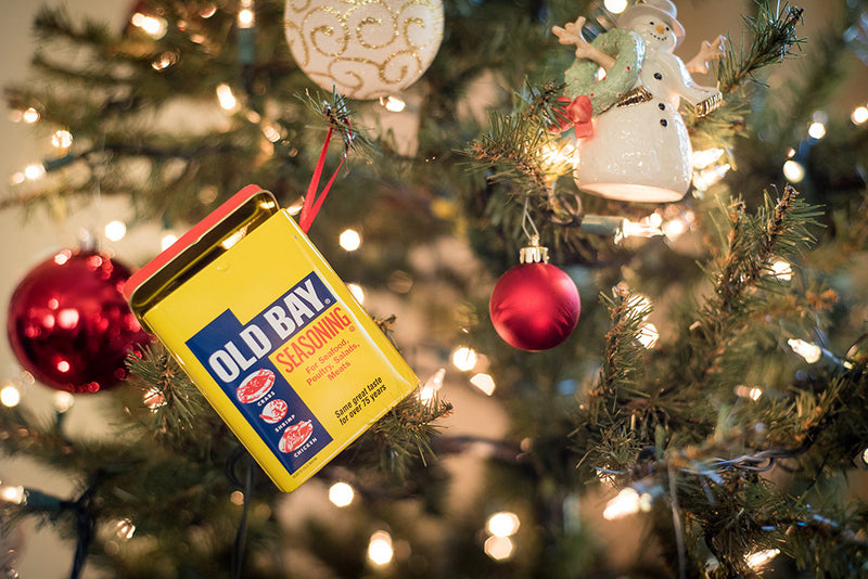 OLD BAY® Tin Ornament Christmas Tree - Maryland O Mine