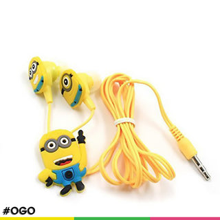 OGO Minion Cartoon Earphones