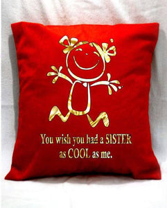 ogo velvet cushions for raksha bandhan