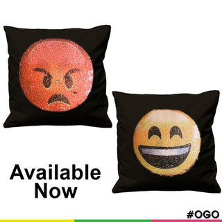 OGO Swipe Up Emoji Cushion