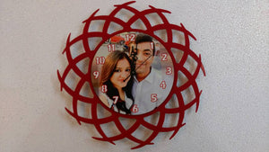 ogo wooden wall clock