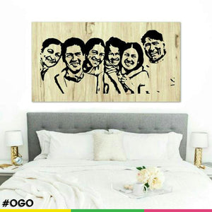 OGO Personlised Family Canvas