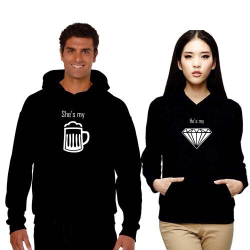 OGO Customized Couple Hoodies
