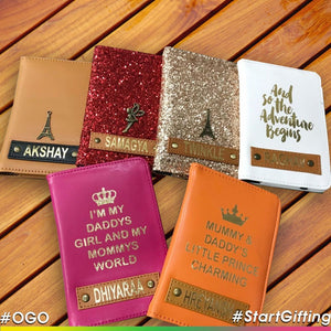 OGO Personalised Passport Cover