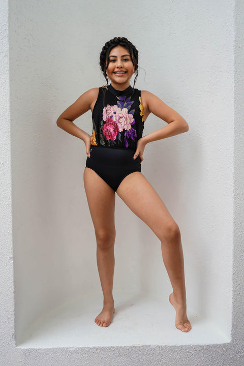 Go With The Flow Leotard - Girls