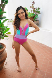 Meet Me In The Middle Leotard - Girls - Kandi Kouture