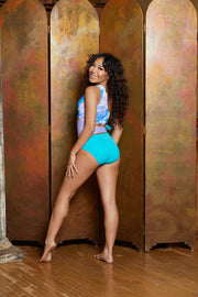 The Queen Diva Leotard - Girls - Kandi Kouture
