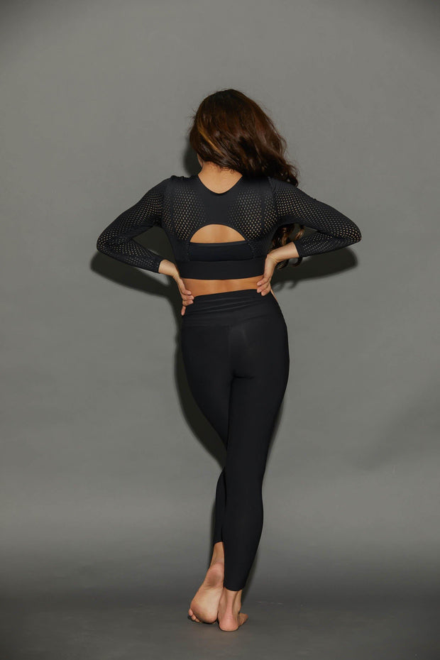 Hype Athletic Crop Top - Girls