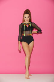 Finish Line Leotard - Women