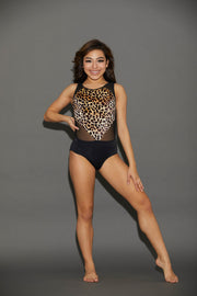 Diamante Leotard - Girls