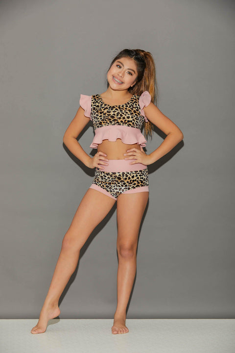 All Dolled Up VIP Brief Pink/Cheetah-Girls