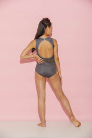 Cut Out The Drama Leotard - Girls