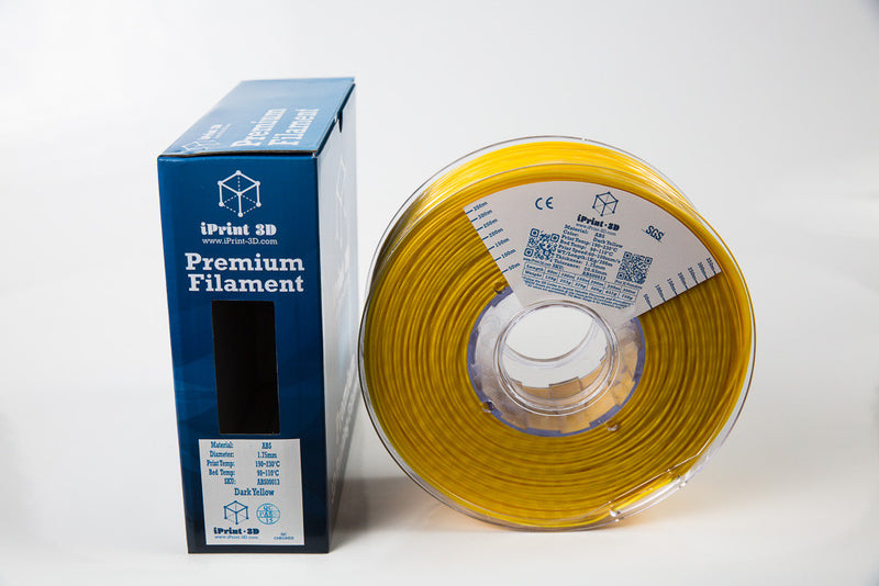 Dark Yellow ABS Premium 3D Filament