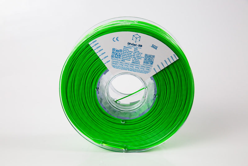 Green ABS Premium 3D Filament