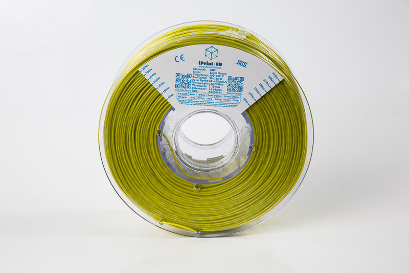 Light Green ABS Premium 3D Filament