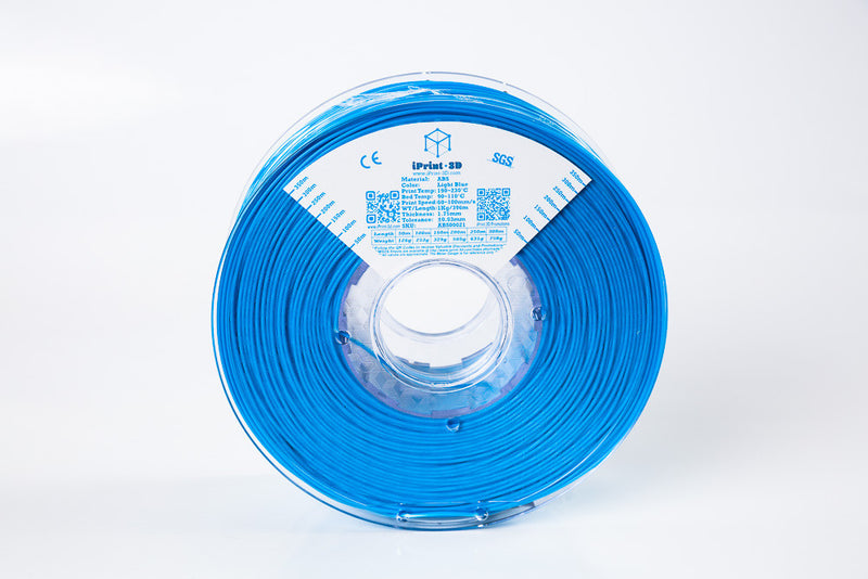 Light Blue ABS Premium 3D Filament