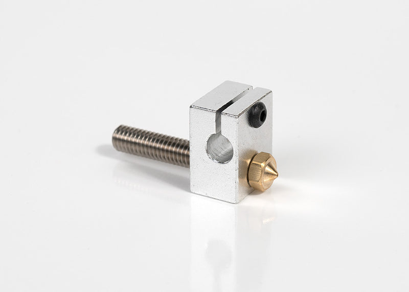 Nozzle Suite/ 0.04mm Nozzle, Heat Block, Threaded Tube connector