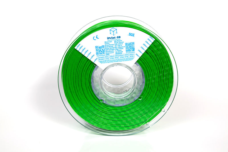 Dark Green PA Nylon Premium 3D Premium Filament
