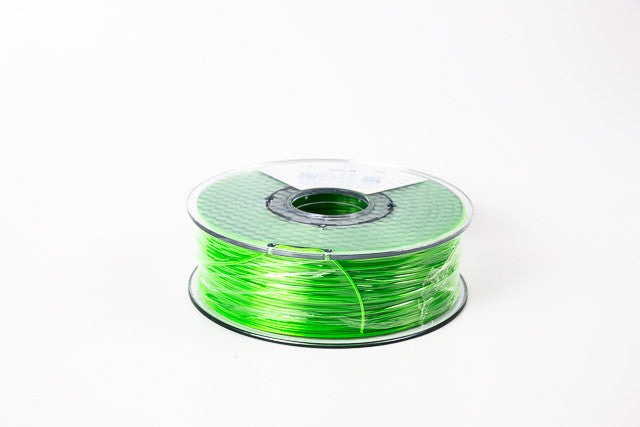 Transparent Green PETG Premium 3D Filament