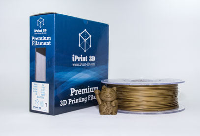 Brass Filled, PLA Premium 3D Filament