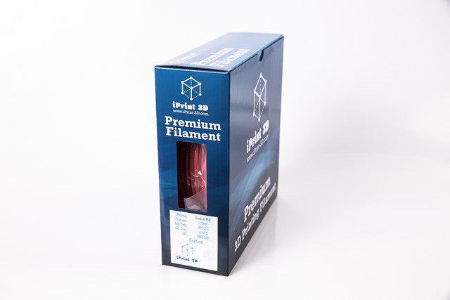 Gradient Colored Premium 3D Filament