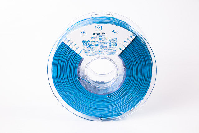Light Blue PLA Premium 3D Filament