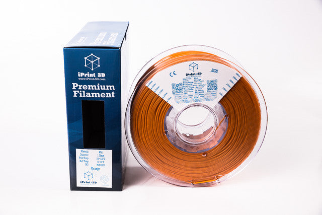 Orange PLA Premium 3D Filament