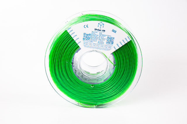 Transparent Green PLA Premium 3D Filament