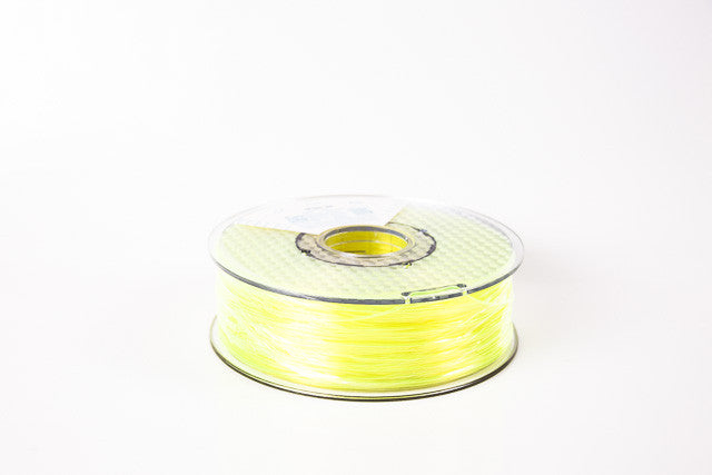 Transparent Yellow PLA Premium 3D Filament