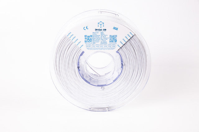 New White PLA Premium 3D Filament