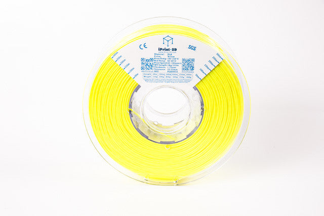 Yellow PLA Premium 3D Filament