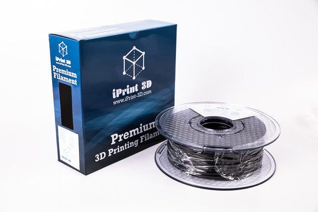 Black TPE Flexible Premium 3D Filament