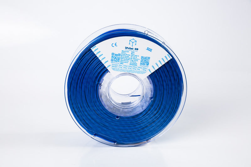 Blue TPU Flexible Premium 3D Filament
