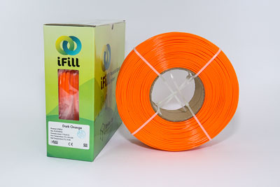 Dark Orange, iFill Premium PLA 3D Filament