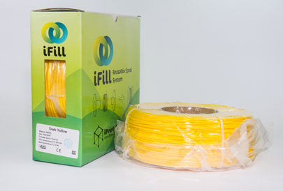 Dark Yellow, iFill Premium PLA 3D Filament