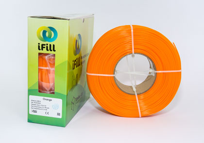 Orange, iFill Premium PLA 3D Filament