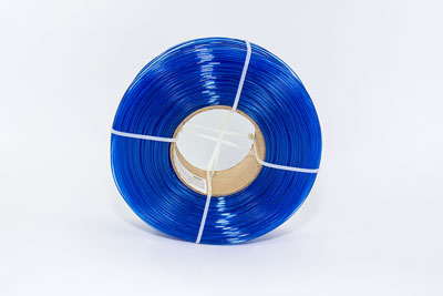 Transparent Blue, iFill Premium PLA 3D Filament