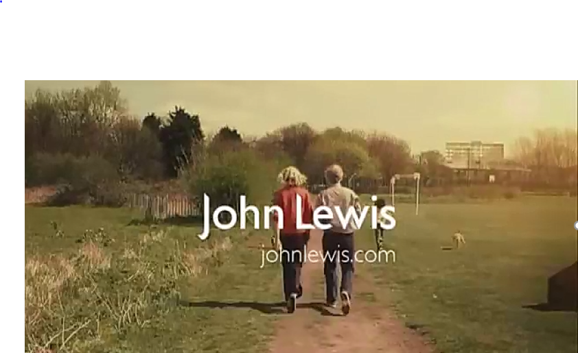 What do promotional items have in common with the John Lewis Christmas Advertising campaign?