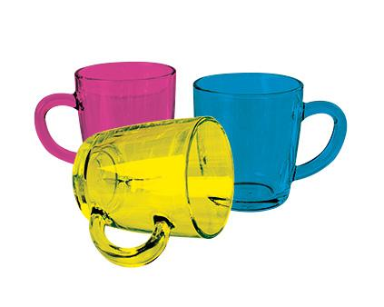 Colourcoat Glass Mug