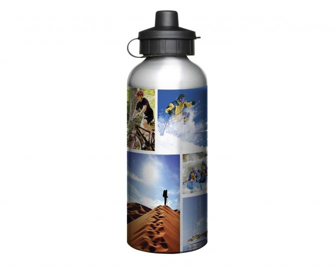 600ml AluminiumSilver  Water Bottle