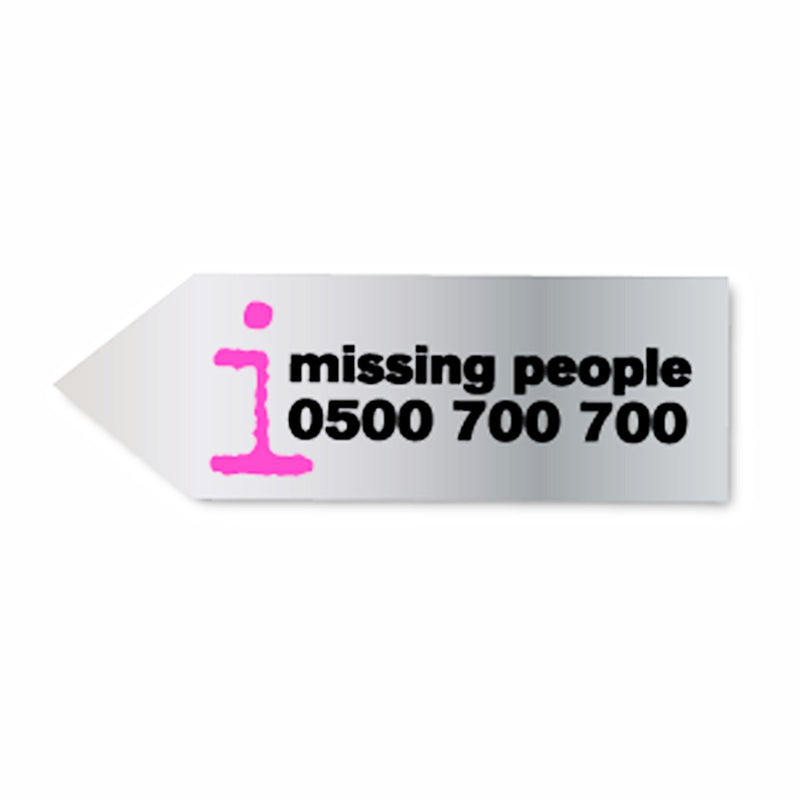 Arrow Fridge Magnet 90mm x 30mm