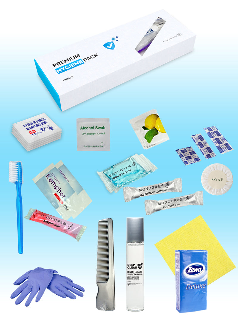 Custom Branded Hygiene Box  - UNISEX HYGIENE PACK