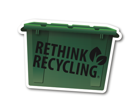 Recycle Box Fridge Magnet