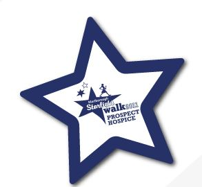Large Star Fridge Magnet 90mm