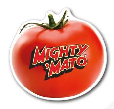 Tomato Fridge Magnet 70mm x 70mm